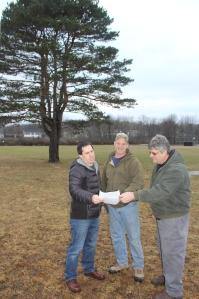 Announcing $40,000 DCNR Grant towards Richard E. Miller Memorial Park in Hometown, 1-15-2014 (13)