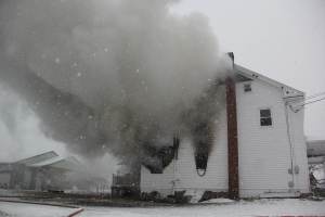 House Fire, 92 Ben Titus Road, Rush Township, 1-10-2014 (31)