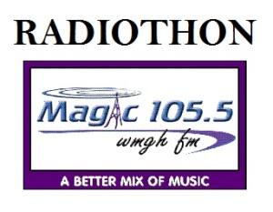 Magic WMGH 105.5 FM - RADIOTHON