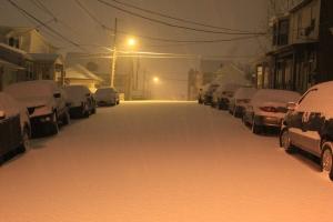 Morning Snow, Tamaqua, 1-18-2014 (2)