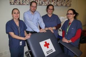 Red Cross Blood Drive, 30 Units, St. John's UCC, Tamaqua, 1-22-2014 (21)