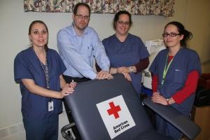 Red Cross Blood Drive, 30 Units, St. John's UCC, Tamaqua, 1-22-2014 (21)