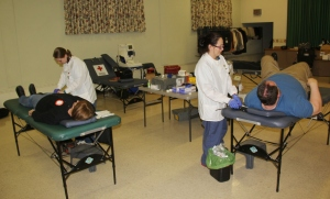 Red Cross Blood Drive, 30 Units, St. John's UCC, Tamaqua, 1-22-2014 (6)
