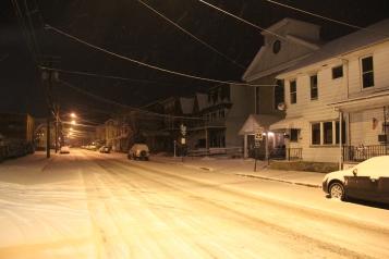 Snow Covered Roads, Tamaqua, 1-18-2014 (1.1)