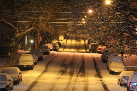 Snow Covered Roads, Tamaqua, 1-18-2014 (17)