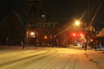 Snow Covered Roads, Tamaqua, 1-18-2014 (2)