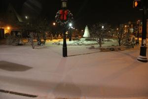 Snow, Depot Square Park, Tamaqua, 1-18-2014 (5)