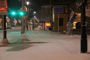 Snow, Depot Square Park, Tamaqua, 1-18-2014 (6)