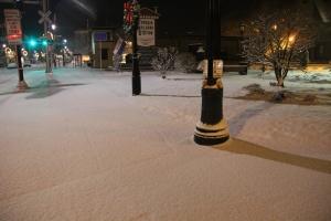 Snow, Depot Square Park, Tamaqua, 1-18-2014 (7)