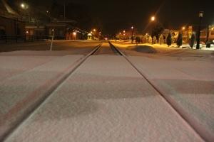 Train Station, Tracks, Snow, Tamaqua, 1-18-2014 (3)