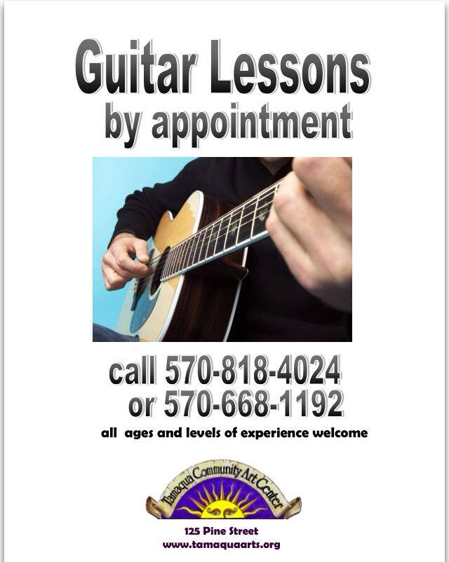 guitar lessons offered at tamaqua community arts center welcome to the new. Black Bedroom Furniture Sets. Home Design Ideas