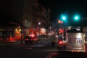 Apartment Fire Response, 14 West Broad Street, Tamaqua, 4-24-2014 (1)