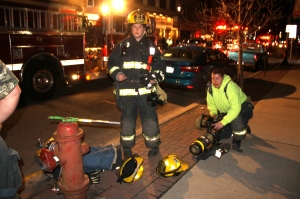 Apartment Fire Response, 14 West Broad Street, Tamaqua, 4-24-2014 (37)