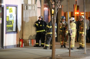 Apartment Fire Response, 14 West Broad Street, Tamaqua, 4-24-2014 (39)