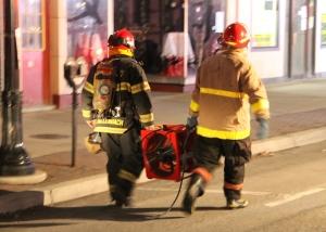 Apartment Fire Response, 14 West Broad Street, Tamaqua, 4-24-2014 (41)