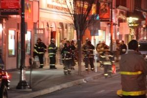 Apartment Fire Response, 14 West Broad Street, Tamaqua, 4-24-2014 (5)