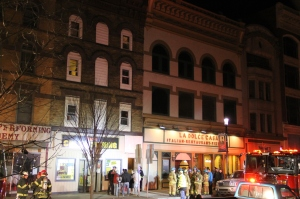 Apartment Fire Response, 14 West Broad Street, Tamaqua, 4-24-2014 (66)