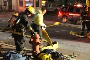 Apartment Fire Response, 14 West Broad Street, Tamaqua, 4-24-2014 (69)