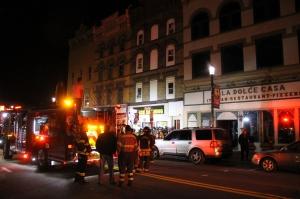 Apartment Fire Response, 14 West Broad Street, Tamaqua, 4-24-2014 (88)