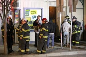 Apartment Fire Response, 14 West Broad Street, Tamaqua, 4-24-2014 (96)