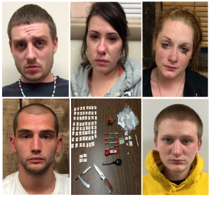 ARRESTED DURING COMBINED MAHANOY CITY AND MAHANOY TOWNSHIP DRUG BUST