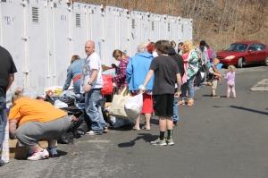 Donation Drop-Off and Tamaqua Community Giveaway, M & M Self Storage, Tamaqua (34)