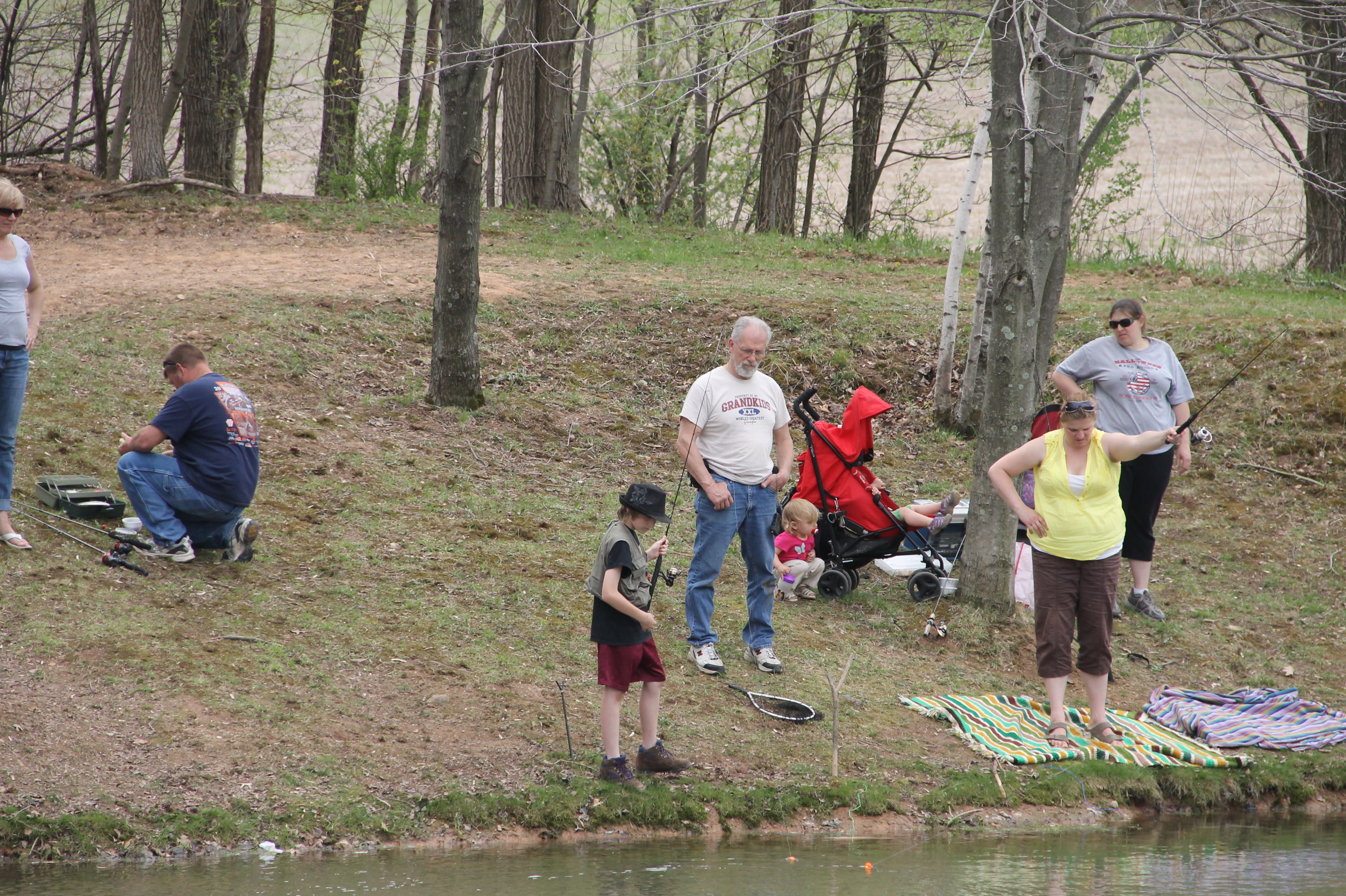 LOCUST VALLEY FISH AND GAME CLUB HOLDS ANNUAL KIDS FISHING ...