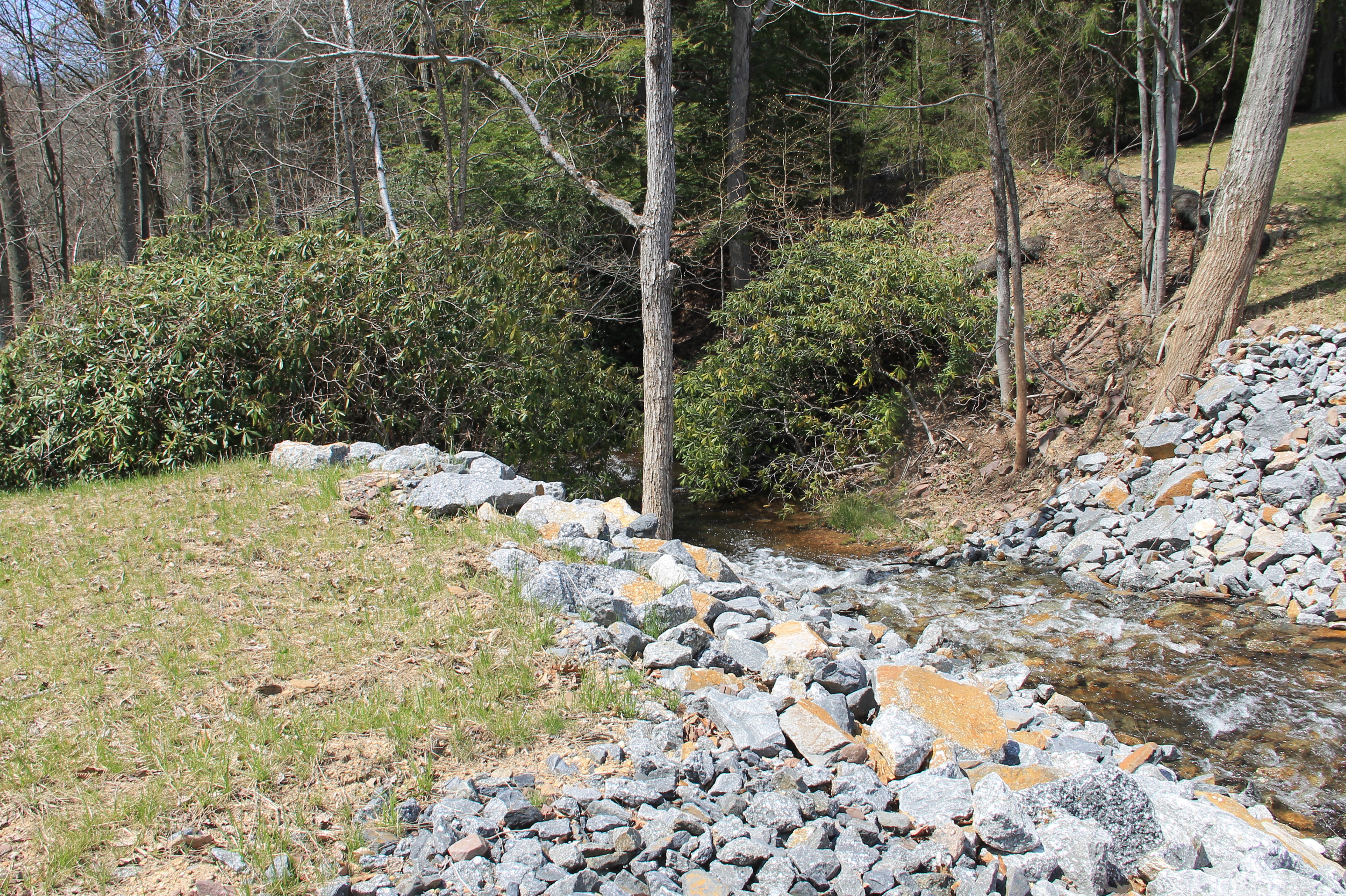 A Filled Lower Dam In Owl Creek Welcome To The New