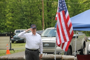 Flag Ceremony, Navy Club, USS Carbon County Ship 260, No. 9 Mine and Museum, Lansford, 5-25-2014 (10)