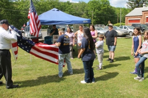 Flag Ceremony, Navy Club, USS Carbon County Ship 260, No. 9 Mine and Museum, Lansford, 5-25-2014 (14)