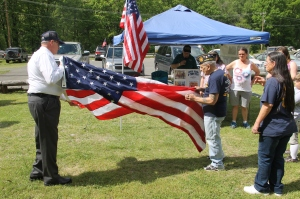 Flag Ceremony, Navy Club, USS Carbon County Ship 260, No. 9 Mine and Museum, Lansford, 5-25-2014 (16)