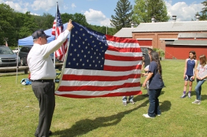 Flag Ceremony, Navy Club, USS Carbon County Ship 260, No. 9 Mine and Museum, Lansford, 5-25-2014 (19)