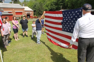 Flag Ceremony, Navy Club, USS Carbon County Ship 260, No. 9 Mine and Museum, Lansford, 5-25-2014 (22)