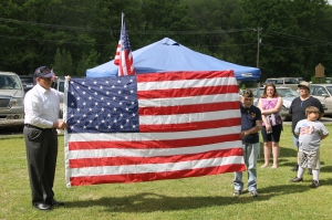 Flag Ceremony, Navy Club, USS Carbon County Ship 260, No. 9 Mine and Museum, Lansford, 5-25-2014 (23)