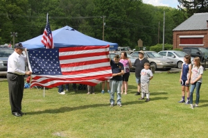 Flag Ceremony, Navy Club, USS Carbon County Ship 260, No. 9 Mine and Museum, Lansford, 5-25-2014 (27)