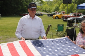 Flag Ceremony, Navy Club, USS Carbon County Ship 260, No. 9 Mine and Museum, Lansford, 5-25-2014 (32)