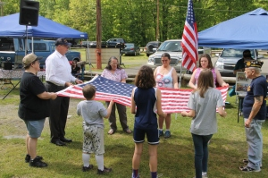 Flag Ceremony, Navy Club, USS Carbon County Ship 260, No. 9 Mine and Museum, Lansford, 5-25-2014 (34)