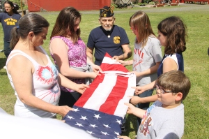 Flag Ceremony, Navy Club, USS Carbon County Ship 260, No. 9 Mine and Museum, Lansford, 5-25-2014 (38)