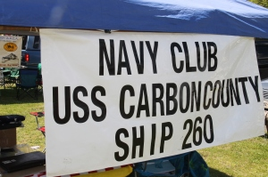 Flag Ceremony, Navy Club, USS Carbon County Ship 260, No. 9 Mine and Museum, Lansford, 5-25-2014 (4)