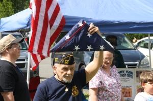 Flag Ceremony, Navy Club, USS Carbon County Ship 260, No. 9 Mine and Museum, Lansford, 5-25-2014 (41)