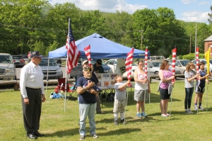 Flag Ceremony, Navy Club, USS Carbon County Ship 260, No. 9 Mine and Museum, Lansford, 5-25-2014 (46)