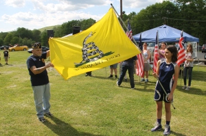 Flag Ceremony, Navy Club, USS Carbon County Ship 260, No. 9 Mine and Museum, Lansford, 5-25-2014 (49)