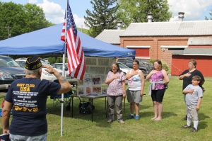 Flag Ceremony, Navy Club, USS Carbon County Ship 260, No. 9 Mine and Museum, Lansford, 5-25-2014 (5)