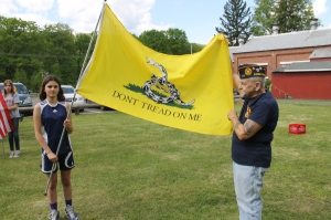 Flag Ceremony, Navy Club, USS Carbon County Ship 260, No. 9 Mine and Museum, Lansford, 5-25-2014 (50)