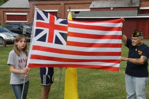 Flag Ceremony, Navy Club, USS Carbon County Ship 260, No. 9 Mine and Museum, Lansford, 5-25-2014 (52)