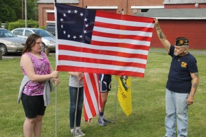 Flag Ceremony, Navy Club, USS Carbon County Ship 260, No. 9 Mine and Museum, Lansford, 5-25-2014 (54)
