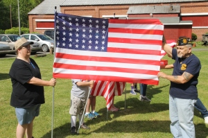 Flag Ceremony, Navy Club, USS Carbon County Ship 260, No. 9 Mine and Museum, Lansford, 5-25-2014 (60)