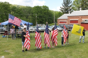 Flag Ceremony, Navy Club, USS Carbon County Ship 260, No. 9 Mine and Museum, Lansford, 5-25-2014 (64)