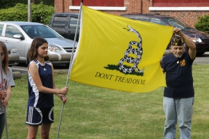 Flag Ceremony, Navy Club, USS Carbon County Ship 260, No. 9 Mine and Museum, Lansford, 5-25-2014 (65)
