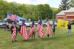 Flag Ceremony, Navy Club, USS Carbon County Ship 260, No. 9 Mine and Museum, Lansford, 5-25-2014 (66)